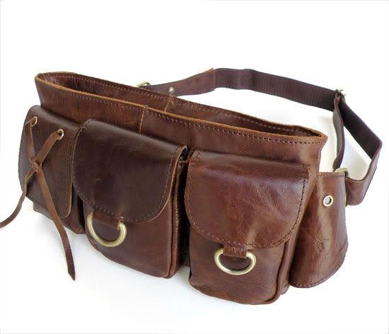 革のウエストパックの水のボトルホルダー#3014c-その他財布、ケース問屋・仕入れ・卸・卸売り