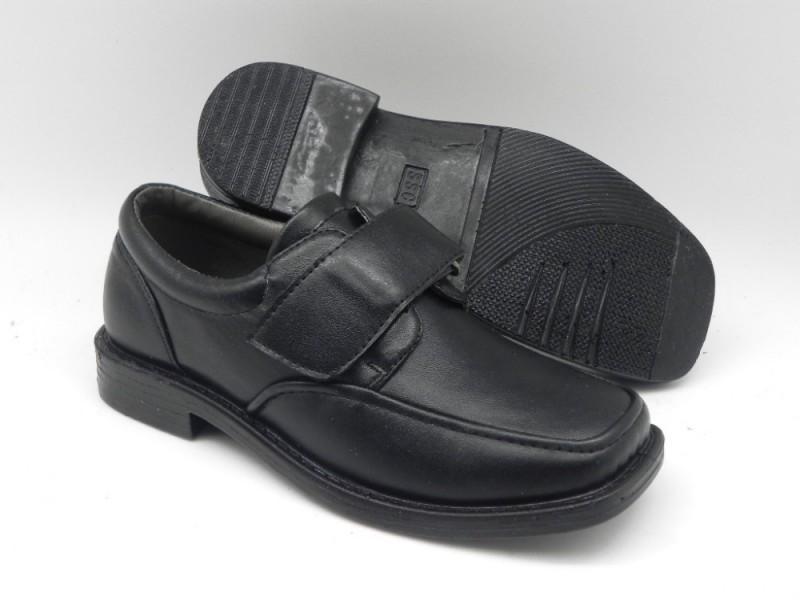 ファッションデザインの男の子の子供のための黒の通学用の靴-その他靴問屋・仕入れ・卸・卸売り