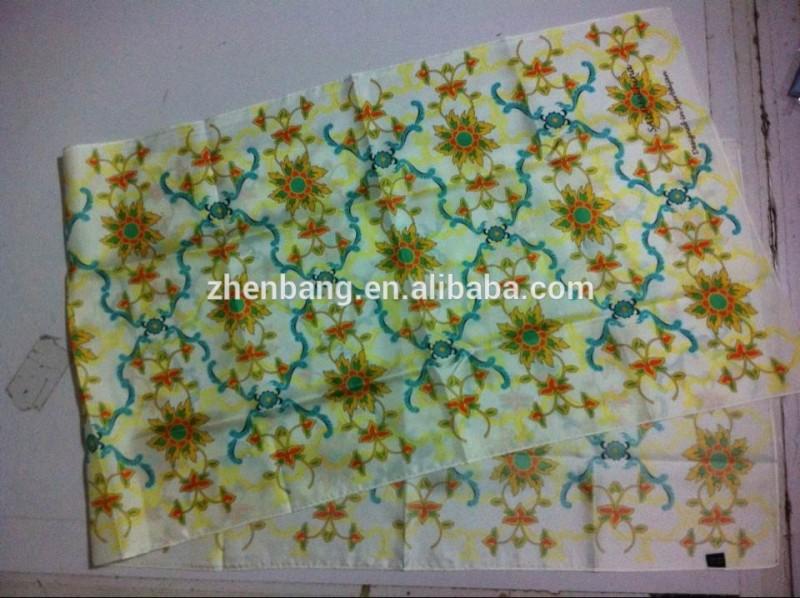工場直接高級カスタムデジタル印刷された絵画のための真っ白なシルクスカーフ-シルクスカーフ問屋・仕入れ・卸・卸売り