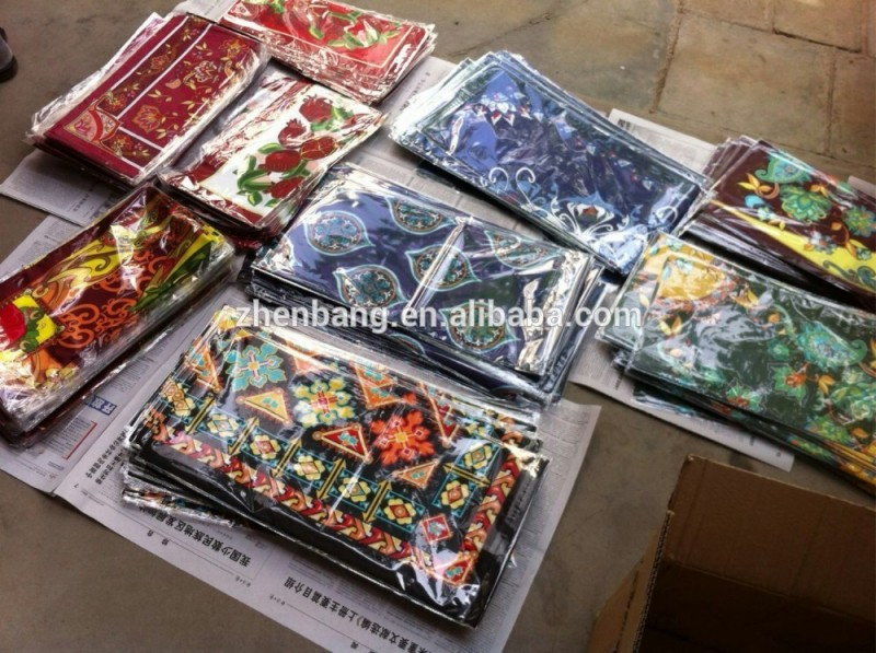 工場直接高級カスタムデジタル印刷された緑の絹のスカーフ-シルクスカーフ問屋・仕入れ・卸・卸売り