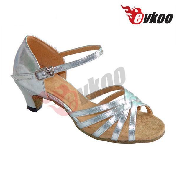 カラフルな社交ダンスシューズ子高ヒール靴のための子供-ダンスシューズ問屋・仕入れ・卸・卸売り