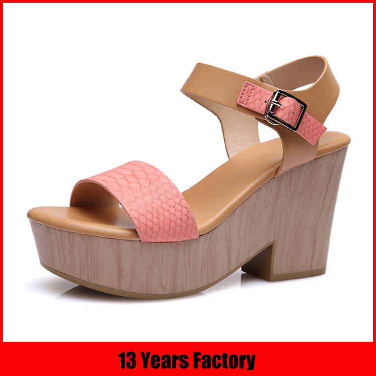女性ヨーロピアンスタイルの靴/ファッション女性木材唯一のハイヒールの靴/高品質の靴とバッグイタリアの女性の靴-フォーマルシューズ問屋・仕入れ・卸・卸売り