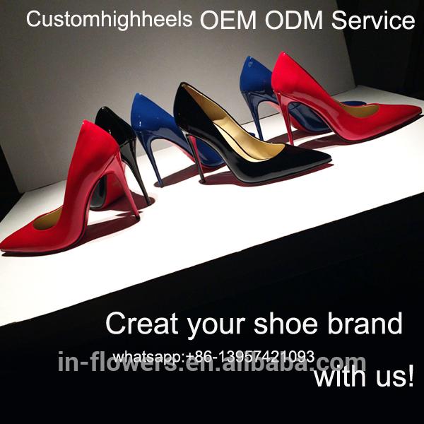 Oem odm ハイヒール イタリア女性の靴セクシー な レディース かかと の靴2016-フォーマルシューズ問屋・仕入れ・卸・卸売り