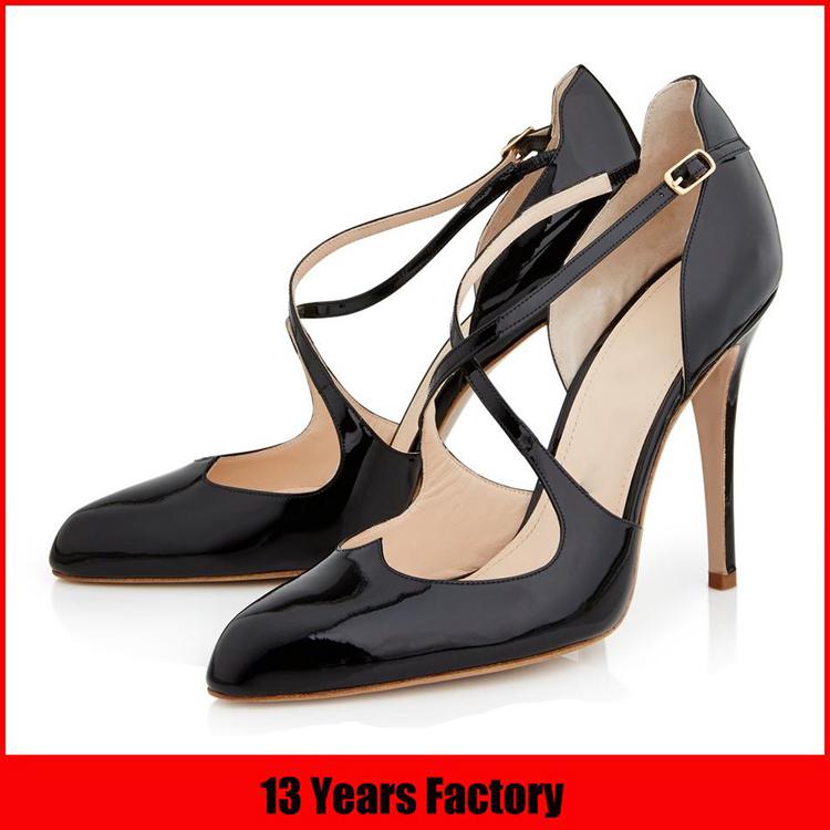 インポートされたカスタム最新新しいデザインのレザーイタリアの女性の靴卸売ハイヒール中国メーカーで-フォーマルシューズ問屋・仕入れ・卸・卸売り