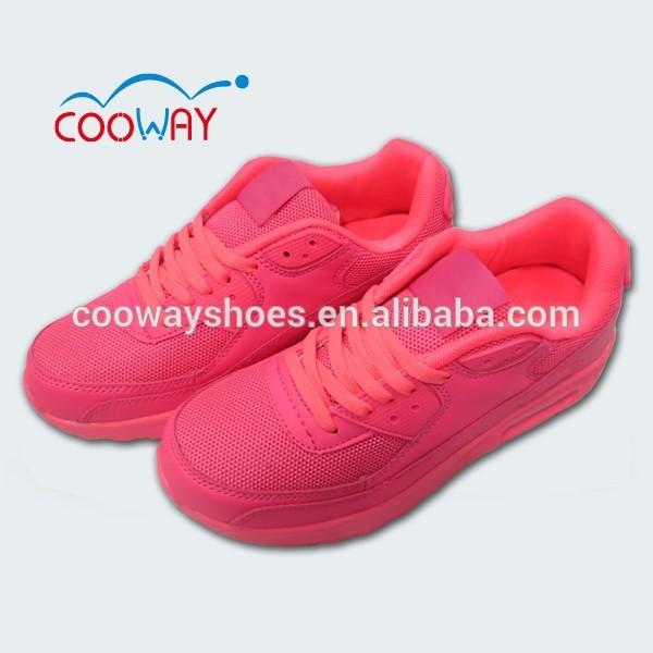 女の子のためのピンクのスポーツ靴/airスポーツシューズの女の子のための-スポーツシューズ問屋・仕入れ・卸・卸売り