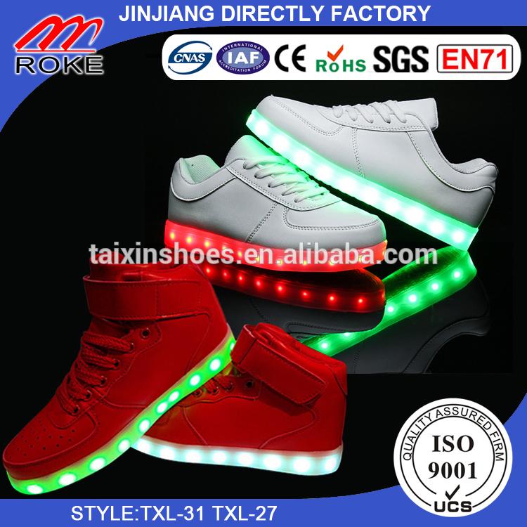 オリジナルled靴工場最高品質で晋江市specail用アメリカヨーロッパmaketとサイズから赤ちゃんに男性-スポーツシューズ問屋・仕入れ・卸・卸売り