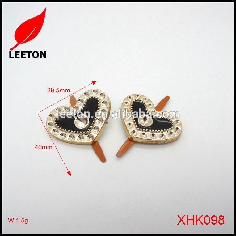 中国供給プラスチック繊細なかわいいハート靴バックル用古典靴-シューズデコレーション問屋・仕入れ・卸・卸売り