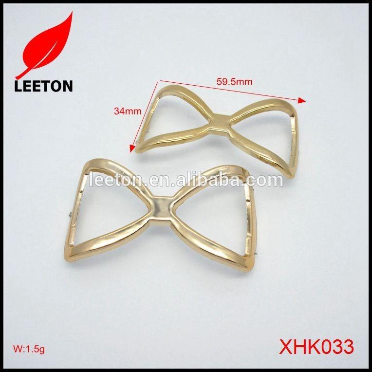 工場供給シンプルかつエレガントなプラスチック光沢のあるゴールドベルトバックル-シューズデコレーション問屋・仕入れ・卸・卸売り