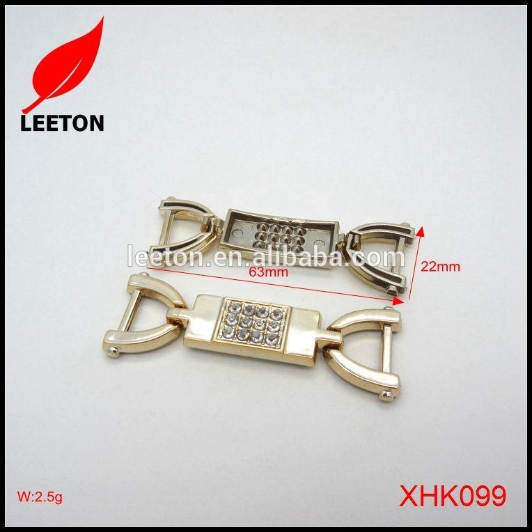 最も安いプラスチックゴールド長方形ベルトバックル用コートリボンdecoretion-シューズデコレーション問屋・仕入れ・卸・卸売り