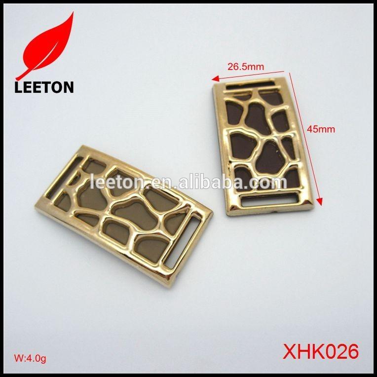 新しいスタイル装飾パターンプラスチック長方形靴バックル-問屋・仕入れ・卸・卸売り