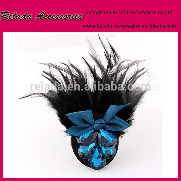 マルチ- カラーオプション七面鳥の羽の孔雀の羽の靴のクリップとバックのクリップを-シューズデコレーション問屋・仕入れ・卸・卸売り