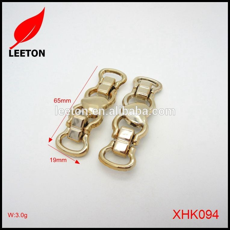 工場供給fashionalのゴールドプラスチック靴バックル用レディwedgies-シューズデコレーション問屋・仕入れ・卸・卸売り