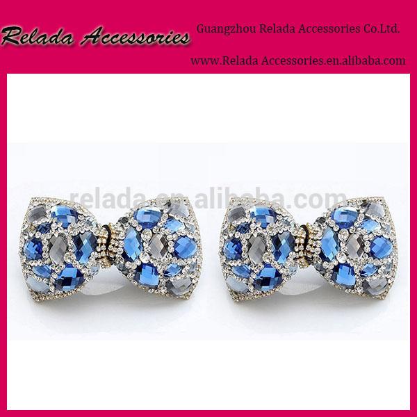 ブライダルディアマンテラインストーンの水晶結婚式のシュークリップの付属品-シューズデコレーション問屋・仕入れ・卸・卸売り