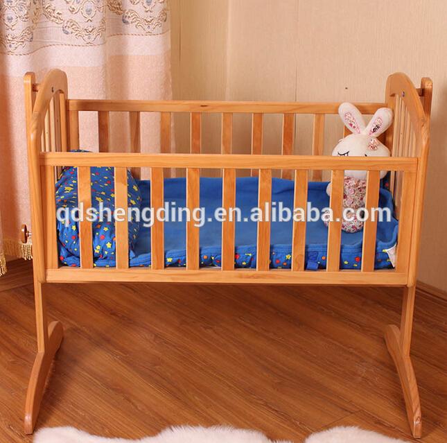 赤ん坊の揺りかごデザイン折り畳み式のベビーベッド/木製ベビークレードル-ベビーベッド問屋・仕入れ・卸・卸売り