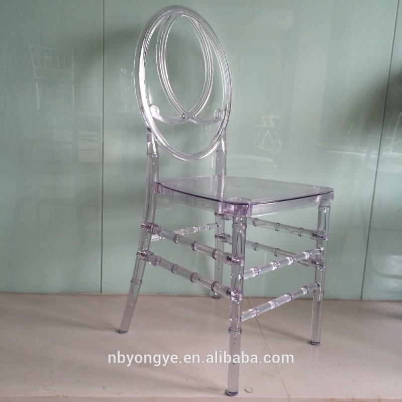 黒色樹脂鳳凰の結婚式キアヴァリ椅子-プラスチック製椅子問屋・仕入れ・卸・卸売り