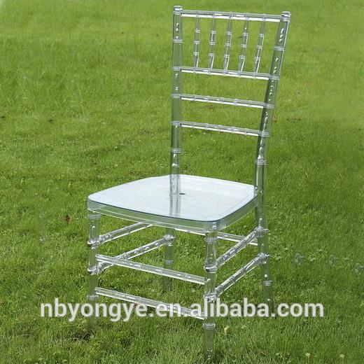 白いウェディング工場販売プラスチック樹脂キアヴァリ椅子-プラスチック製椅子問屋・仕入れ・卸・卸売り