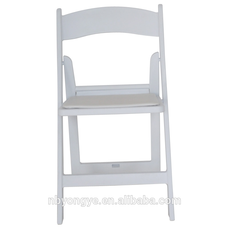 白で埋め椅子安い折り畳み式のプラスチック-ダイニングチェア問屋・仕入れ・卸・卸売り