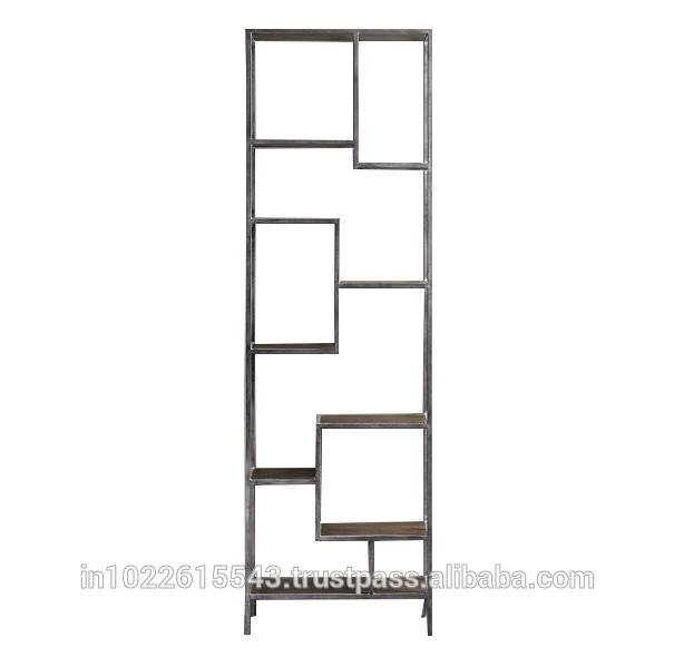 工業用の金属製の本棚、 アンティークメタルの棚工業用-その他アンティーク家具問屋・仕入れ・卸・卸売り