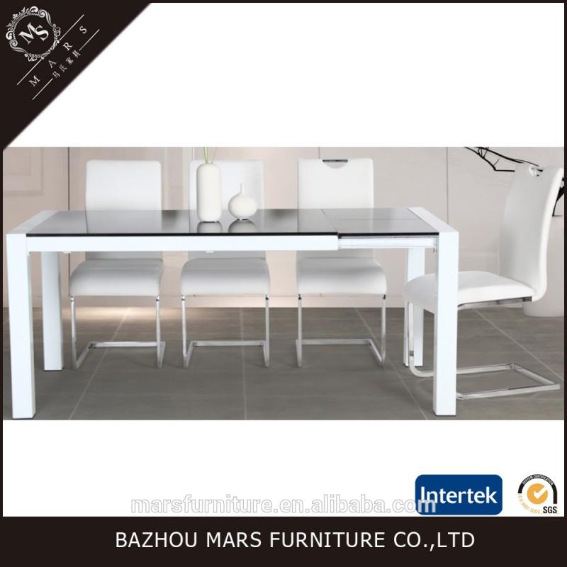 現代のディナーテーブルセットとガラスダイニングテーブル-食卓問屋・仕入れ・卸・卸売り