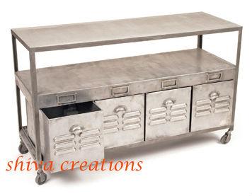 ヴィンテージ工業素朴な家具-その他金属製家具問屋・仕入れ・卸・卸売り