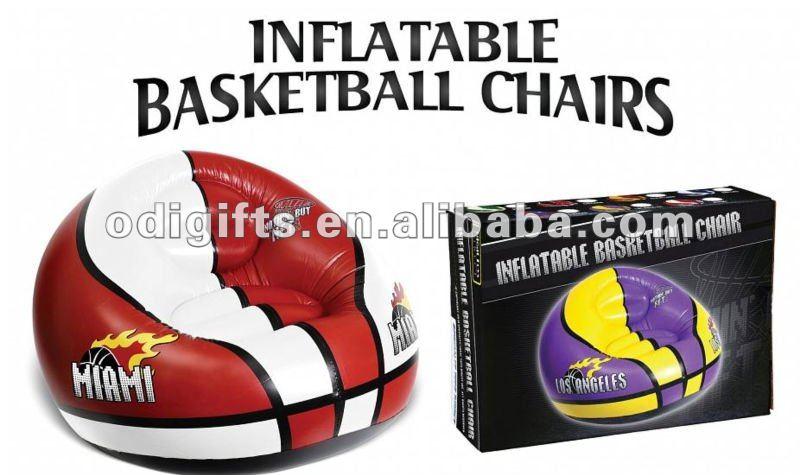 ビニールの移動式膨脹可能なバスケットボールのスポーツチームソファー-リビング用ソファ問屋・仕入れ・卸・卸売り
