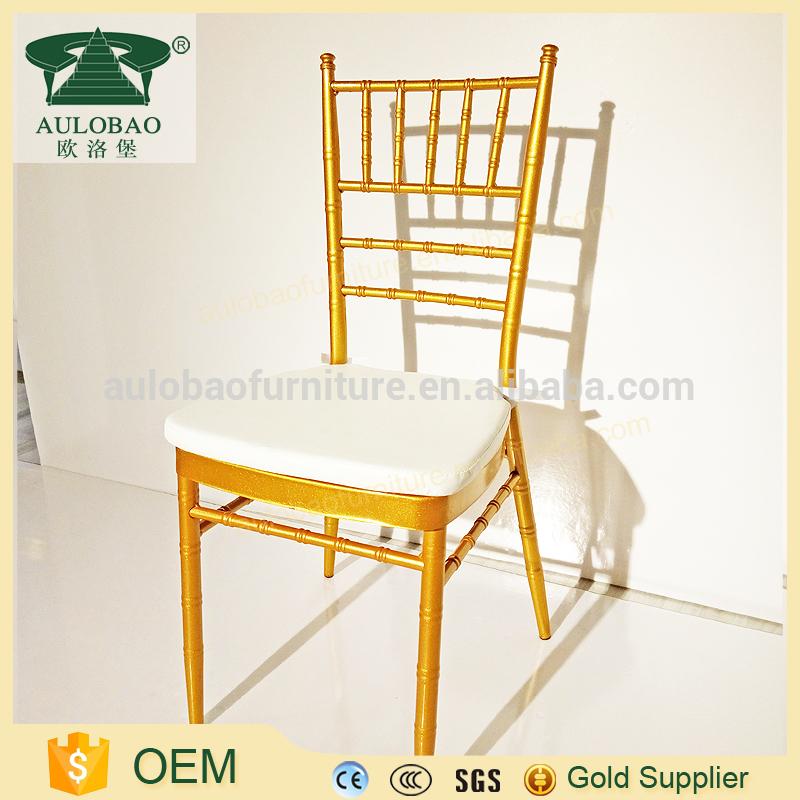 高級ホテル家具高速配信白とゴールドホテルのダイニングチェア-金属製椅子問屋・仕入れ・卸・卸売り