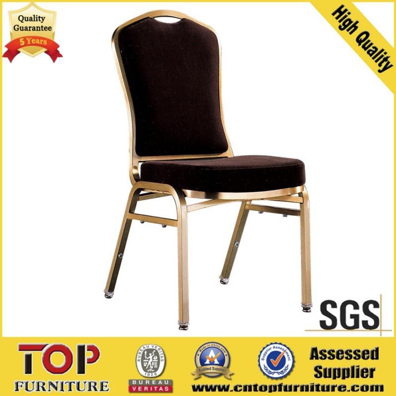 近代的なファブリックのホテルの椅子の家具スタッキング宴会/スチールフレーム安い宴会の椅子-金属製椅子問屋・仕入れ・卸・卸売り