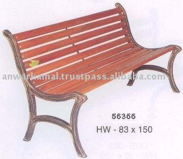 の庭のベンチ-アンティーク椅子問屋・仕入れ・卸・卸売り