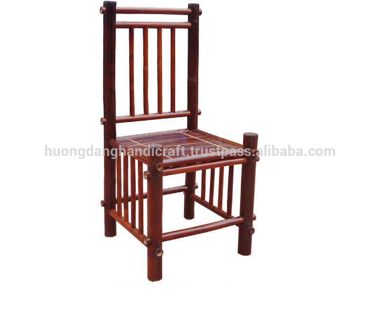 鮮やかなスタイルの竹の椅子を備えた上品なデザインと竹製の家具の天然手作りベトナムから-ガーデンチェア問屋・仕入れ・卸・卸売り