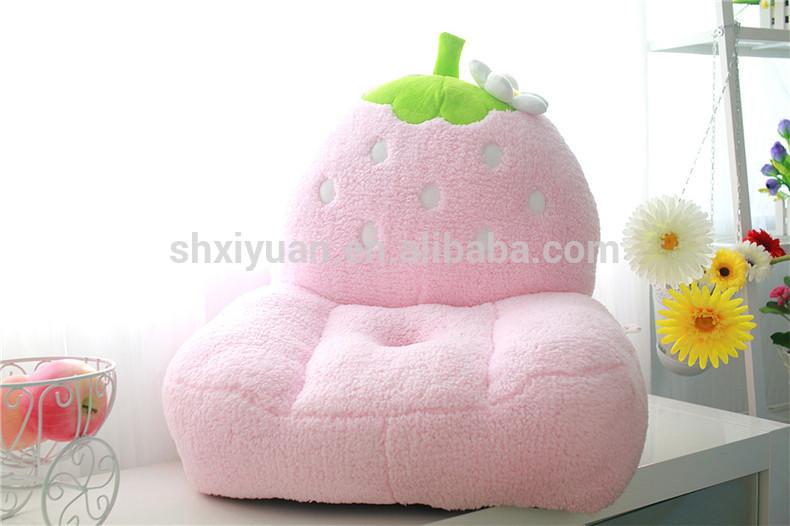 熱い販売の子かわいいピンクイチゴソファ-子供用ソファー問屋・仕入れ・卸・卸売り