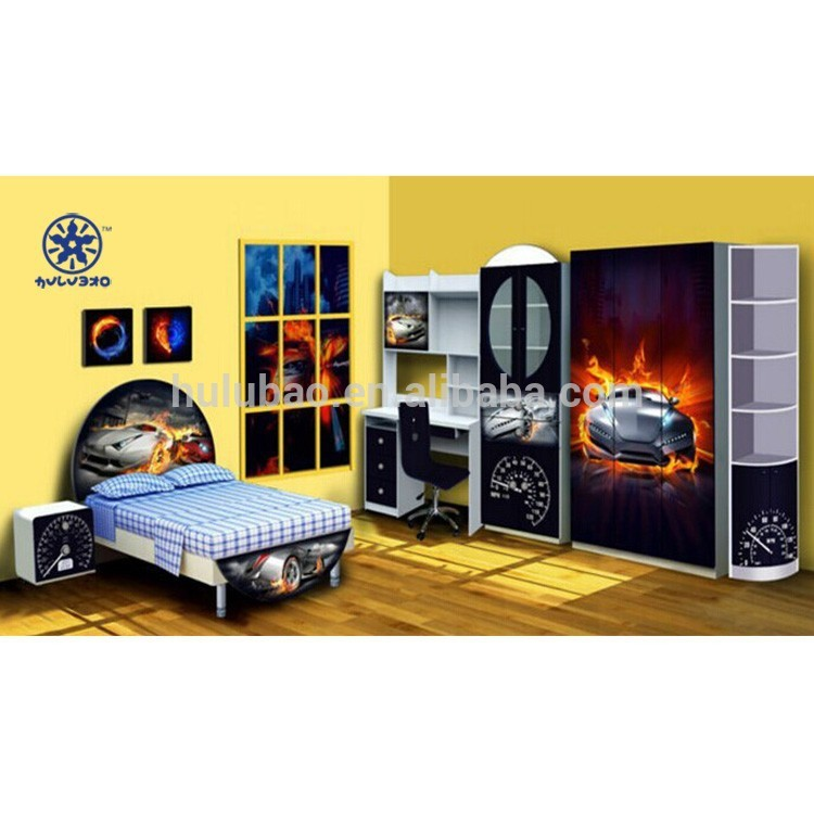 高光沢子供家具木製家具でuv # 902F-子供用家具セット問屋・仕入れ・卸・卸売り