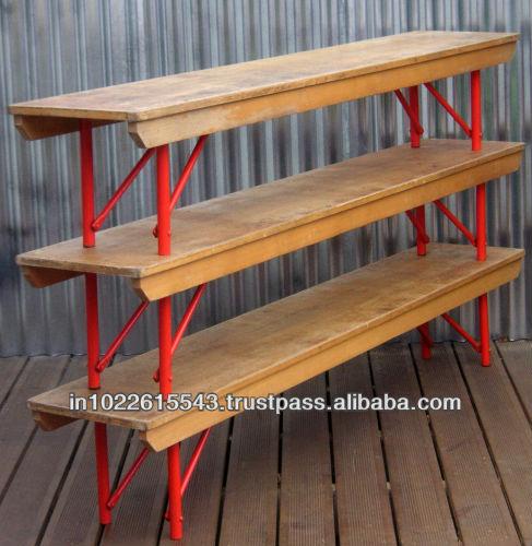ヴィンテージ学校のベンチ、 工業用ベンチ-学校用家具セット問屋・仕入れ・卸・卸売り