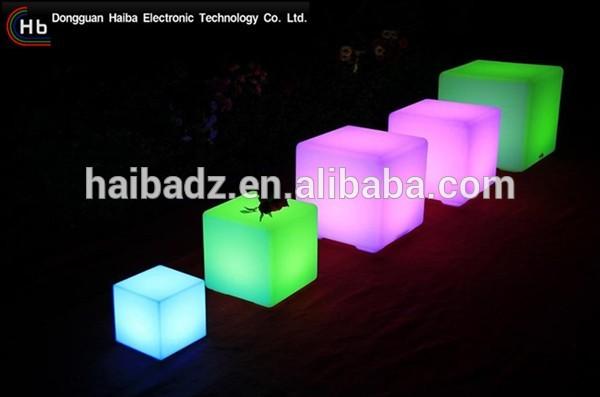 スツールledキューブdecoation ledキューブチェア用バー/カフェ/ガーデン/ホームデコレーション中国卸売サプライヤー-その他バー家具問屋・仕入れ・卸・卸売り