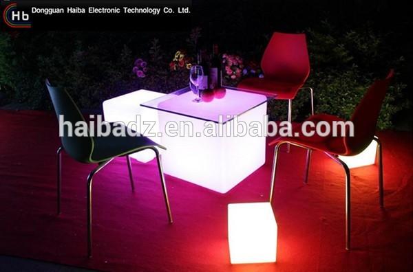 屋外ledライトアップキューブ家具ledキューブマジック中国サプライヤーのジュエリー-その他バー家具問屋・仕入れ・卸・卸売り