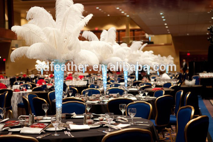 装飾のための結婚式、 パーティー、美しいdeacoration 70-75センチダチョウの羽-問屋・仕入れ・卸・卸売り