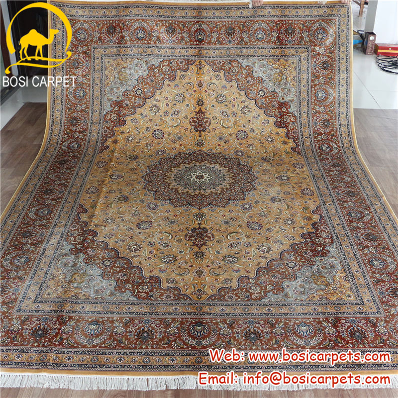 手で作られた純粋な絹のトルコのカーペット大きい割引競争力のある価格-カーペット問屋・仕入れ・卸・卸売り