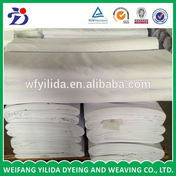 高品質tc80/2021x21108x58漂白中国から生地を主な市場-生機問屋・仕入れ・卸・卸売り