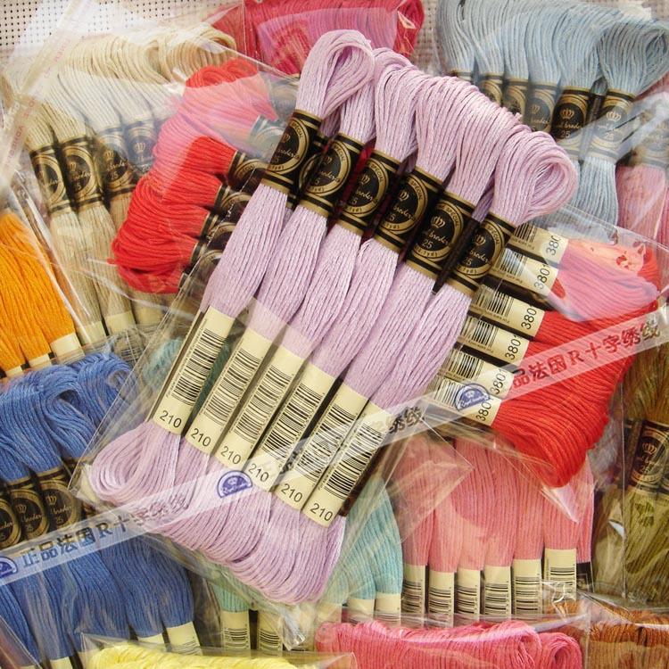 100%木綿糸刺繍糸で447色-糸問屋・仕入れ・卸・卸売り
