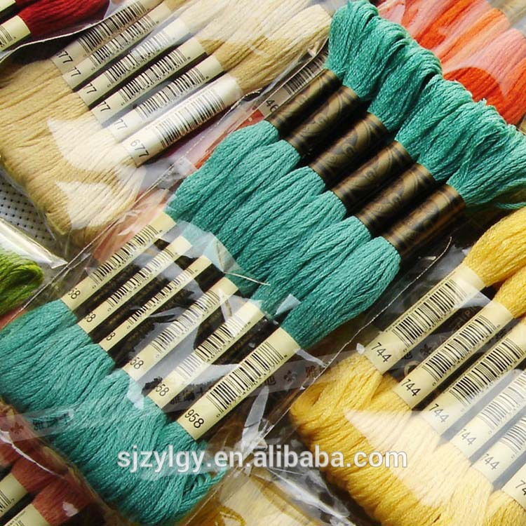 2016クロスステッチ糸で100%綿-糸問屋・仕入れ・卸・卸売り