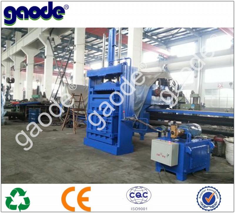 ウールの廃棄物を編む綿hc82-630油圧バリングマシン-紡織ウエイスト問屋・仕入れ・卸・卸売り
