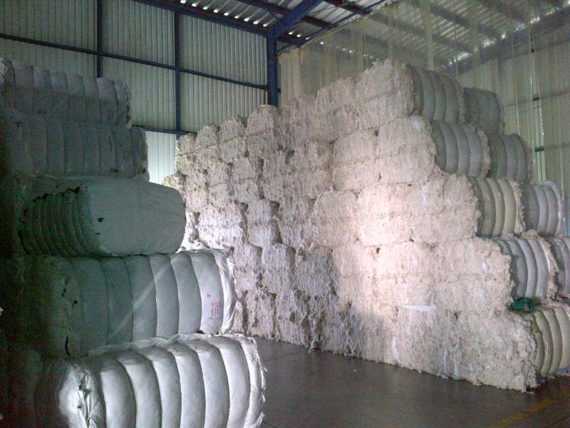 綿100%の廃棄物- サブから製品の紡績工場-紡織ウエイスト問屋・仕入れ・卸・卸売り