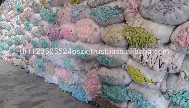 の綿の廃棄物のぼろ綿100%-紡織ウエイスト問屋・仕入れ・卸・卸売り