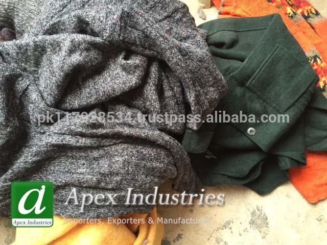 ウールの廃棄物から使用衣類-紡織ウエイスト問屋・仕入れ・卸・卸売り