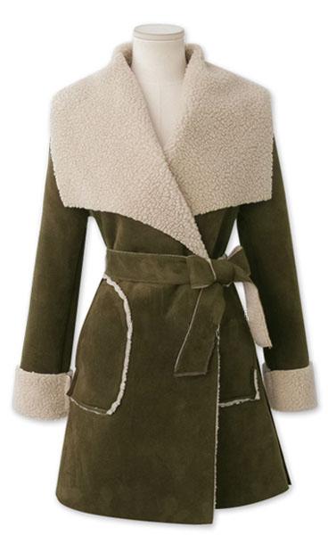 最新のデザイン女性のフェイクファーコート大きな襟付き-フェイクファー問屋・仕入れ・卸・卸売り