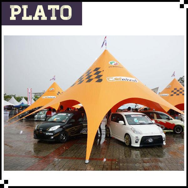 高品質の車の駐車場のキャノピーテント、 星形車の展示会用テント-展示会用テント問屋・仕入れ・卸・卸売り