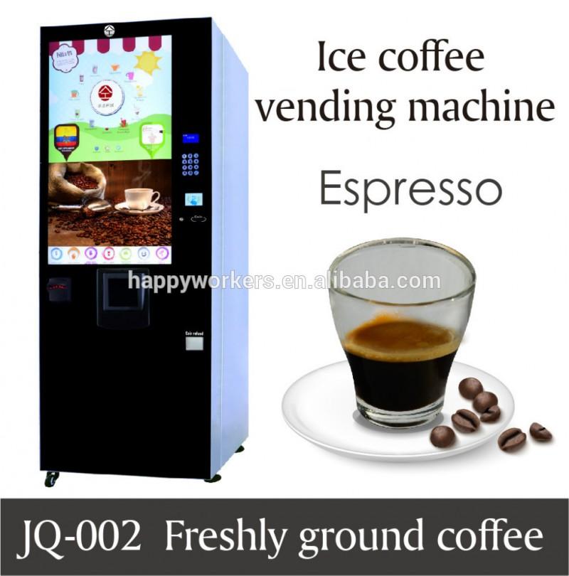 挽きたてのコーヒー自動販売機;コイン式茶コーヒー自動販売機-自動販売機問屋・仕入れ・卸・卸売り