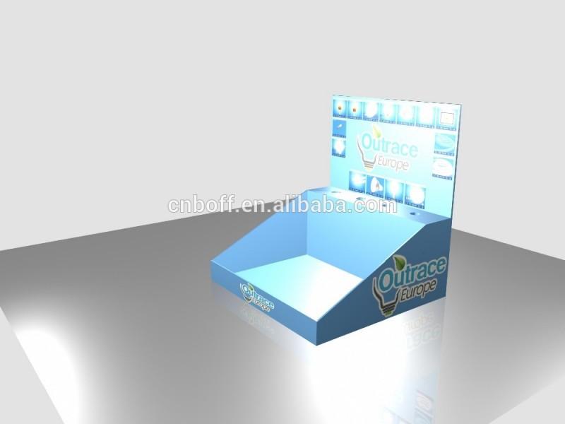 高品質段ボールカウンターディスプレイスタンド-ディスプレイラック問屋・仕入れ・卸・卸売り