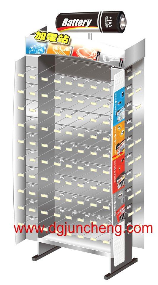 バッテリーディスプレイラック-ディスプレイラック問屋・仕入れ・卸・卸売り