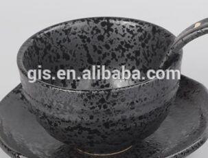 日本への輸出抹茶茶碗黒/抹茶椀-ボウル問屋・仕入れ・卸・卸売り