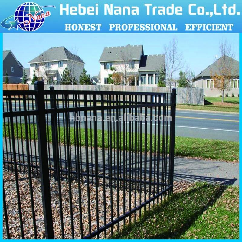 安い装飾鍛鉄フェンス/亜鉛メッキ鉄ガードレール-フェンス、トレリス、ゲート問屋・仕入れ・卸・卸売り